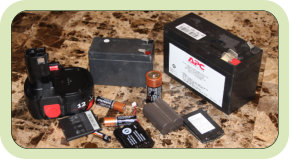 Types of Re-Cyclable Batteries